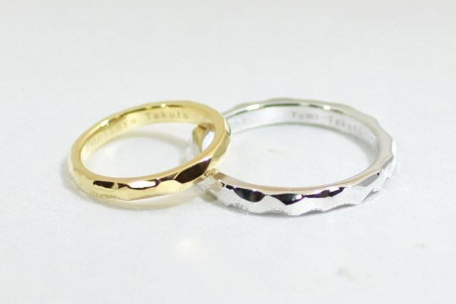 self make marriage ring (手作り結婚指輪の流れ3)
