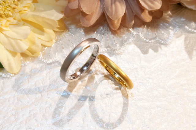 self make marriage ring (手作り結婚指輪の料金)