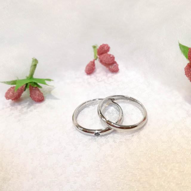 marriage ring example (手作り結婚指輪作品例1)