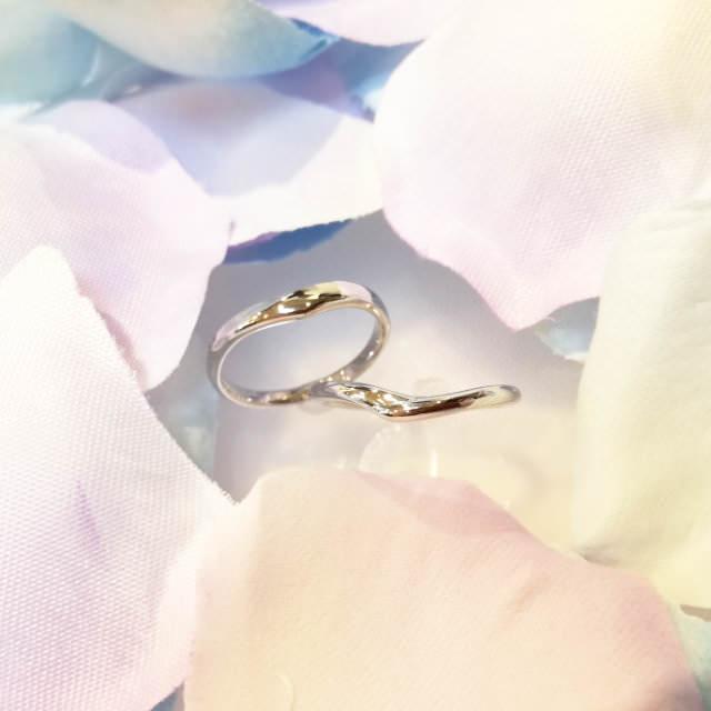 marriage ring example (手作り結婚指輪作品例3)