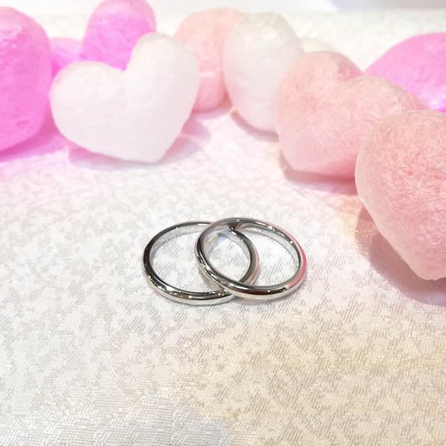 pair ring example (手作りペアリング作品例1)