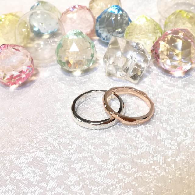 pair ring example (手作りペアリング作品例2)