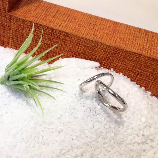 pair ring example (手作りペアリング作品例4)