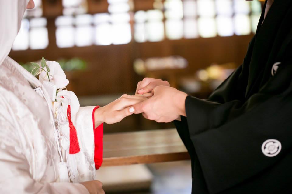 結婚式に指輪を交換しあう意味3