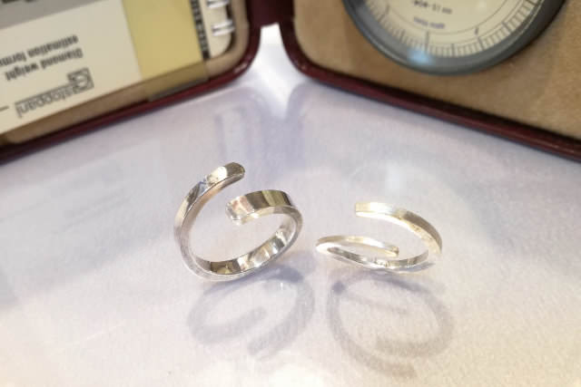 Make Casual Pair Ring (カジュアル ペアリング 作りの例)2