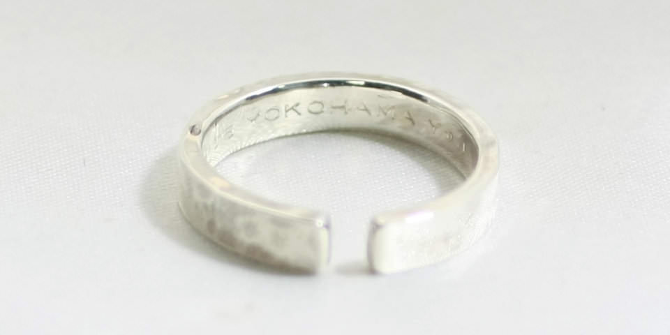 Make Casual Pair Ring (カジュアル ペアリング 作りの刻印)
