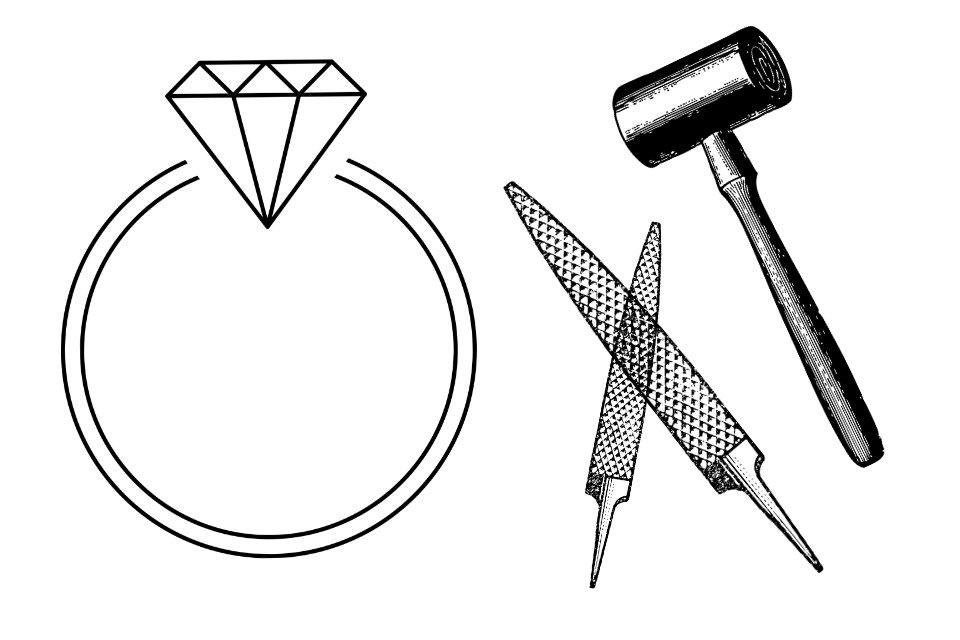 手作り婚約指輪の不安材料1